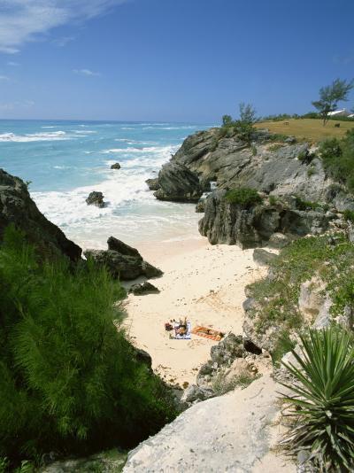 South Coast Beach, Bermuda, Central America, Mid Atlantic-Harding Robert-Photographic Print