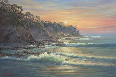 South Coast Sunrise-John Bradley-Giclee Print