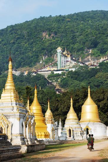 South East Asia, Myanmar, Pindaya-Christian Kober-Photographic Print