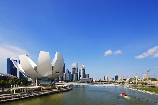 South East Asia, Singapore, Art Science Museum by the Bay-Christian Kober-Photographic Print