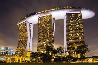 South East Asia, Singapore, South East Asia, Singapore, Marina Bay Sands-Christian Kober-Photographic Print