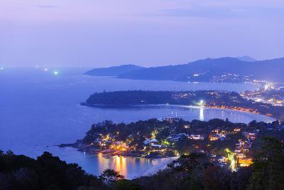 South East Asia, Thailand, Phuket, Kata Beach View Point-Christian Kober-Photographic Print