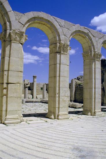 South-East Baths, Maktar, Tunisia-Vivienne Sharp-Photographic Print