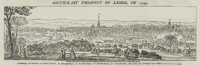South-East Prospect of Leeds, in 1745--Giclee Print