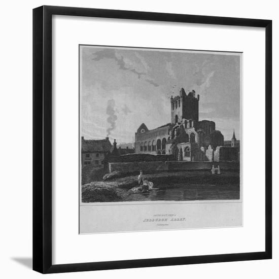 'South East View of Jedburgh Abbey. Roxburghshire', 1814-John Greig-Framed Giclee Print