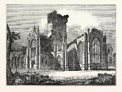 South-East View of Melrose Abbey--Giclee Print