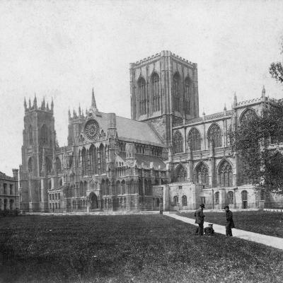 South-East View of York Minster, Yorkshire, Late 19th or Early 20th Century--Giclee Print