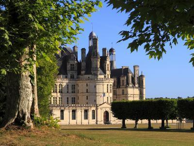 South Facade, Chateau De Chambord, Chambord, Loir Et Cher, Loire Valley, France-Dallas & John Heaton-Photographic Print