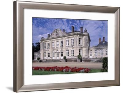 South Facade of Chateau De Craon, Pays De La Loire, Detail, France--Framed Giclee Print