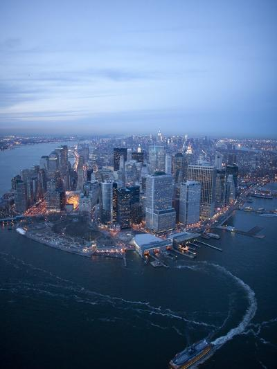 South Ferry, Manhattan-Cameron Davidson-Photographic Print