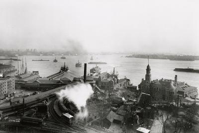 South Ferry Terminal, 1905-G.P. & Son Hall-Photographic Print