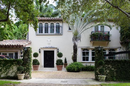 South Florida Home Exterior-felix mizioznikov-Photographic Print