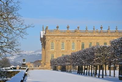 South Front, Chatsworth House, Derbyshire--Photographic Print