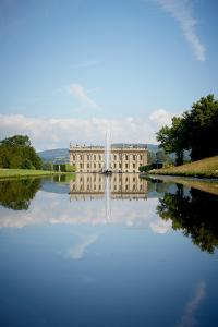 South Front Seen Through the Emperor Fountain, Chatsworth House, Derbyshire