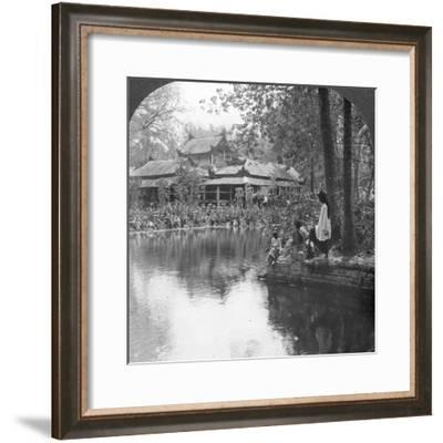 South Garden Palace in Fort, Mandalay, Burma, 1908--Framed Photographic Print