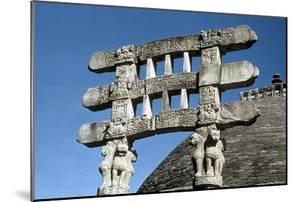 South Gate (Toran) Architraves of the Great Stupa, Sanchi, India, 75-50 Bc