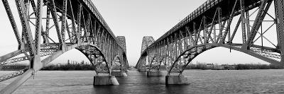 South Grand Island Bridges, New York State, USA--Photographic Print