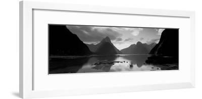 South Island, Milford Sound, New Zealand--Framed Photographic Print