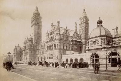South Kensington Station, London, C.1885--Photographic Print