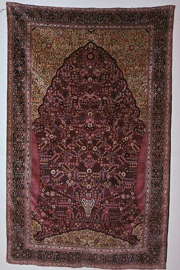 South Persian prayer rug, 18th century. Artist: Unknown-Unknown-Giclee Print