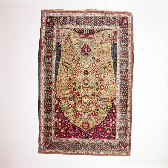 South Persian Prayer Rug, 18th century-Unknown-Giclee Print