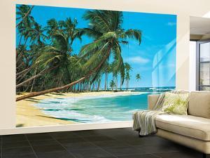 South Sea Beach Landscape Wall Mural
