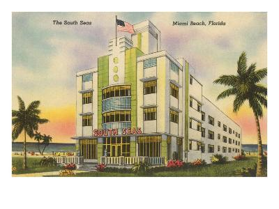 South Seas Hotel, Miami Beach, Florida--Art Print