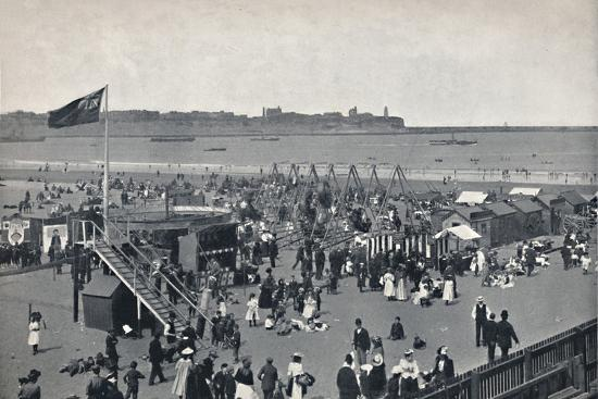 'South Shields - All The Fun Of The Fair.', 1895-Unknown-Photographic Print