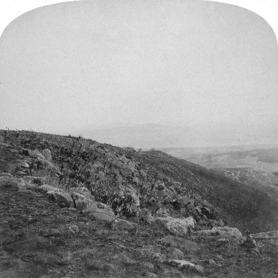 South Slope of Spion Kop, South Africa, Boer War, 1901-Underwood & Underwood-Giclee Print