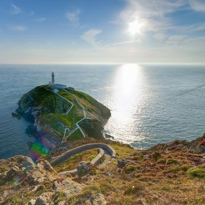 South Stack Lighthouse, Holy Island, Anglesey, Gwynedd, Wales, United Kingdom, Europe-Alan Copson-Photographic Print