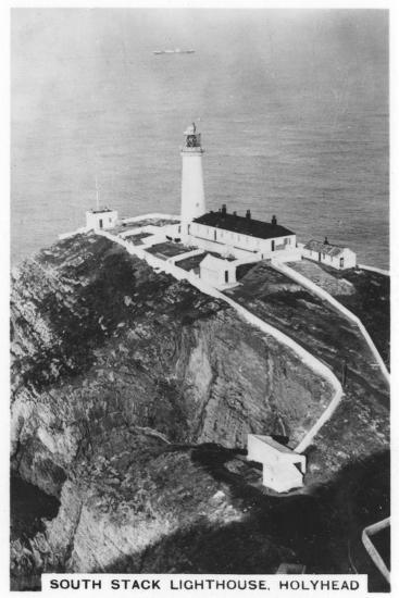 South Stack Lighthouse, Holyhead, Wales, 1937--Giclee Print