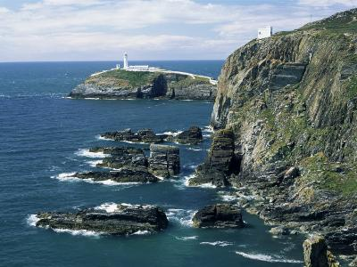 South Stack Lighthouse, Isle of Anglesey, Wales, United Kingdom-Roy Rainford-Photographic Print