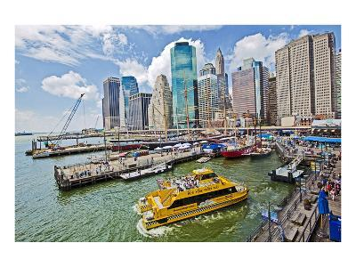 South Street Seaport Museum, New York City, New York, USA--Art Print