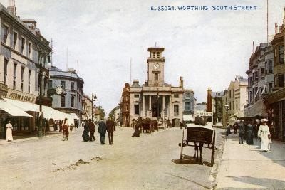 South Street, Worthing, Sussex, C1900s--Giclee Print