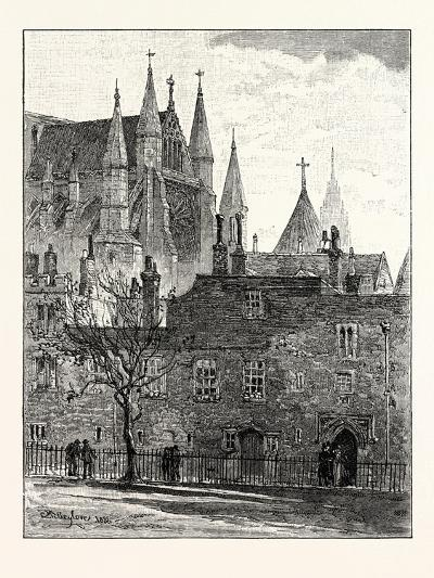 South Transept Westminster Abbey London--Giclee Print