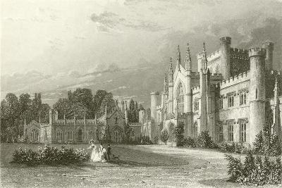 South View of Lowther Castle-Thomas Allom-Giclee Print