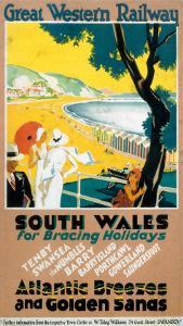 South Wales for Bracing Holidays, Atlantic Breezes and Golden Sands