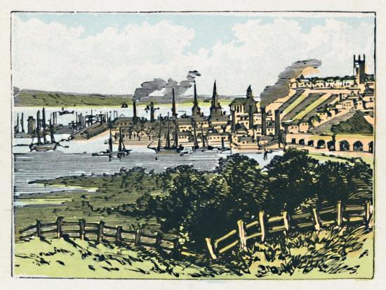 'Southampton', c1910-Unknown-Giclee Print
