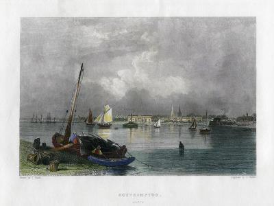 Southampton, Hampshire, 19th Century-E Finden-Giclee Print