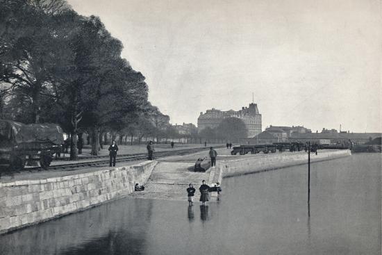'Southampton - The Platform', 1895-Unknown-Photographic Print