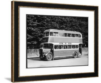 Southdown Omnibus--Framed Photographic Print