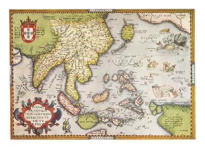 Southeast Asia 1570--Giclee Print