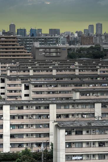 Southeastern Tokyo Buildings-Chris Jongkind-Photographic Print