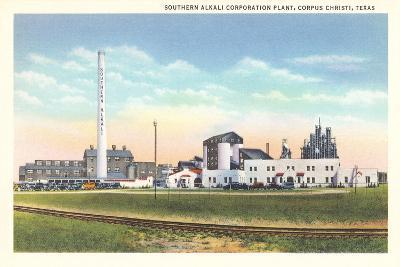 Southern Alkali Plant, Corpus Christi--Art Print