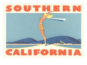 Southern California Travel Poster