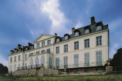 Southern Facade of Chateau of Sainte-Assise, 18th Century, Seine-Port, Ile-De-France, France--Photographic Print