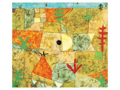 Southern Gardens-Paul Klee-Art Print