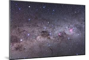 Southern Milky Way with Eta Carinae, Crux and Alpha and Beta Centauri