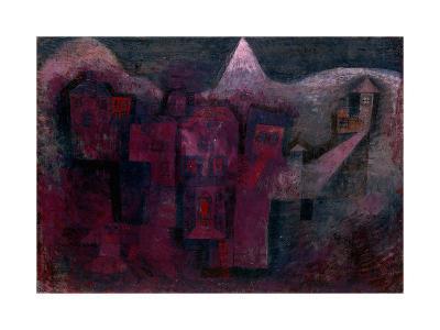 Southern Mountain Village-Paul Klee-Giclee Print