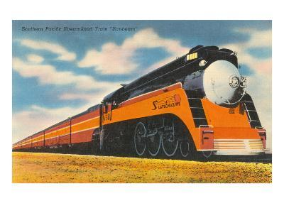 Southern Pacific Streamlined Train, Sunbeam--Art Print